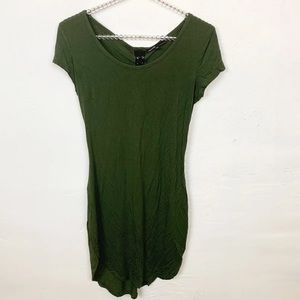 Love Culture l Army Green Lace Up Dress